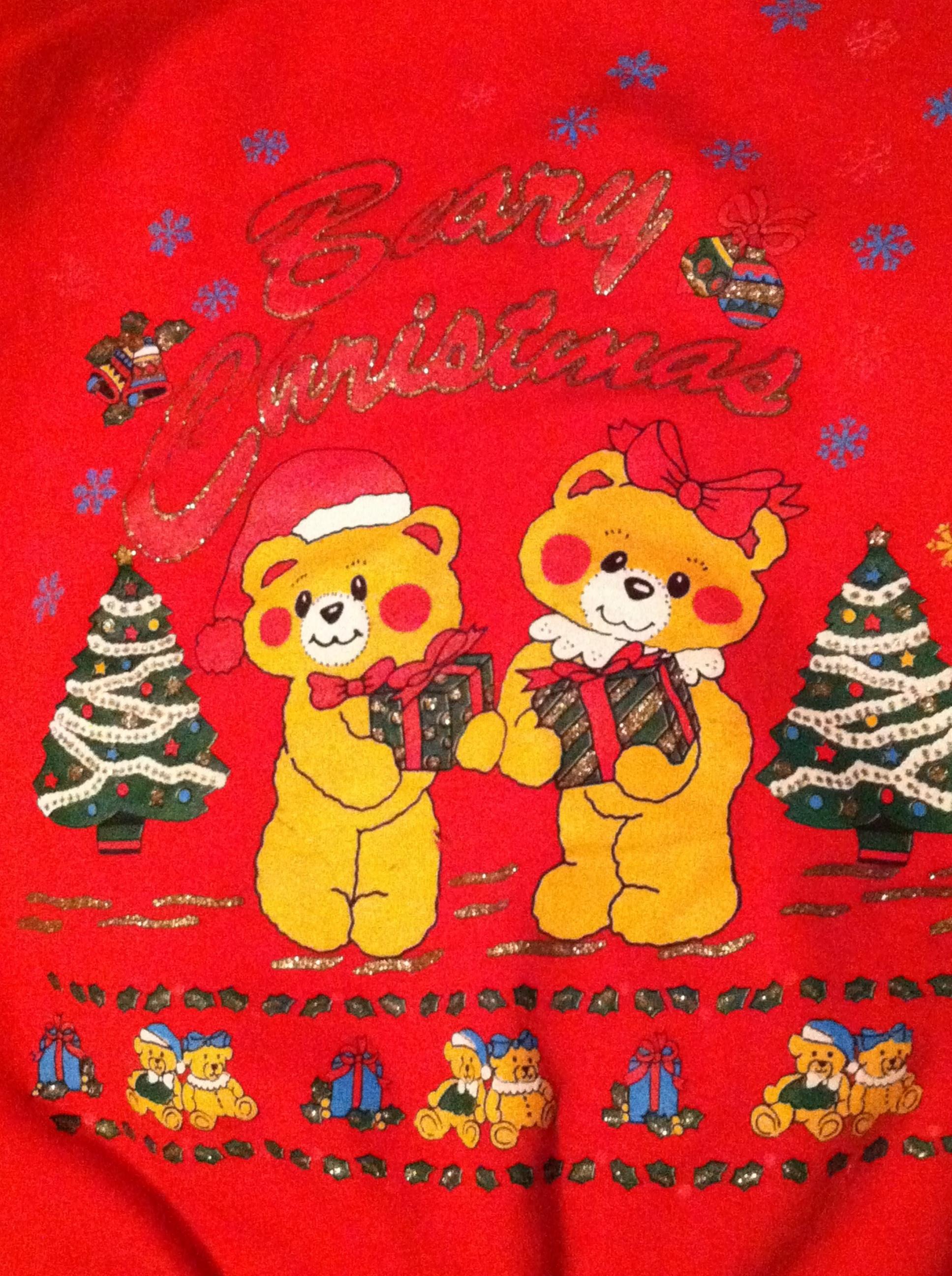 Beary Christmas Sweater