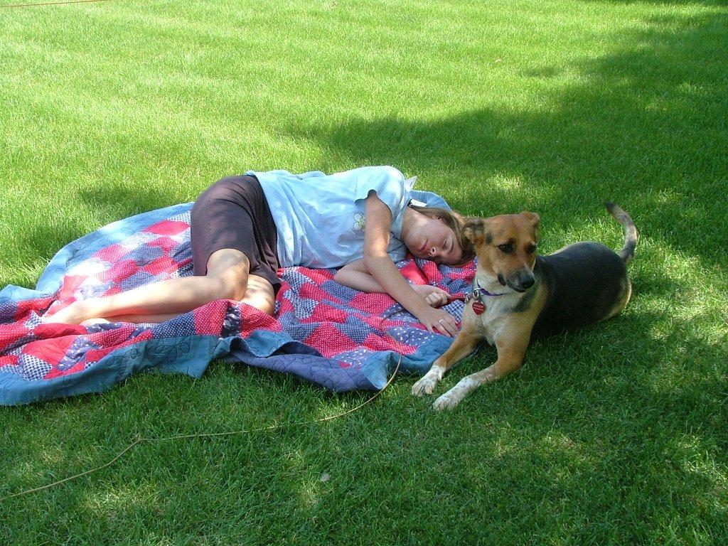 napping-with-dog