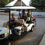 full-golf-cart-at-bald-head-island