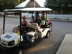 full-golf-cart-at-bald-head-island