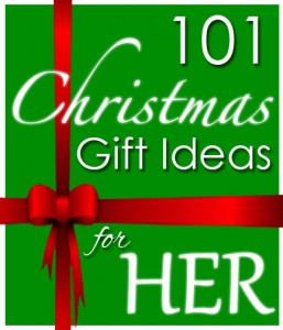 101 christmas gift ideas for her