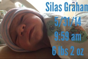 Welcome Silas Graham Bresnahan